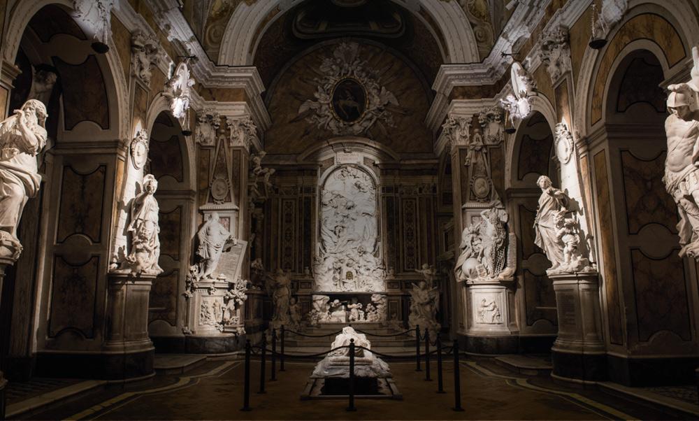 Eleuteria alla Cappella Sansevero